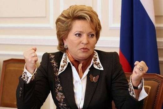 Матвиенко считает антироссийские санкции