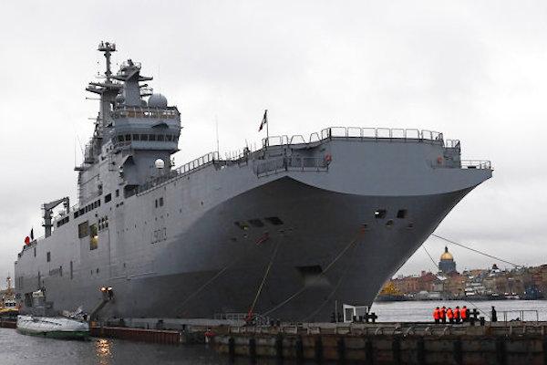 400 российских моряков прибудут во Францию для освоения «Мистраля»