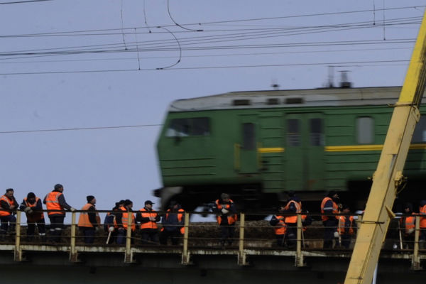 Движение поездов на белорусском направлении восстановлено