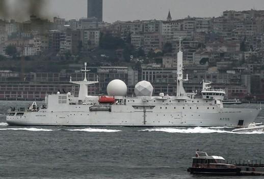 Судно НАТО зайдет в Черное море