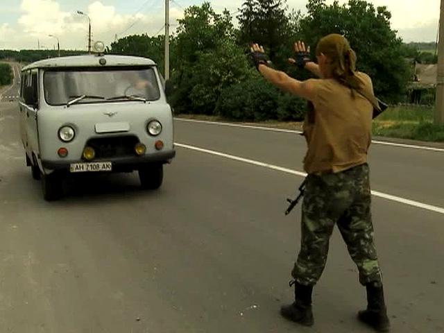 Освобожденные наблюдатели ОБСЕ прибыли в Донецк