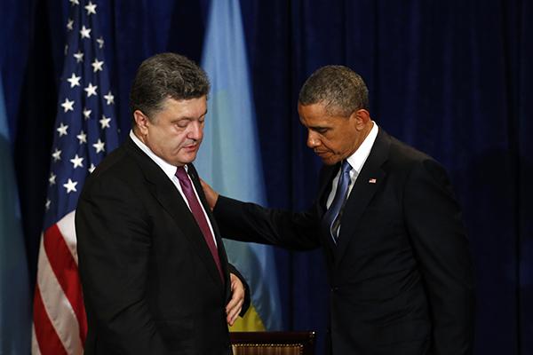Обама предоставит Украине военную помощь на 23 миллиона долларов