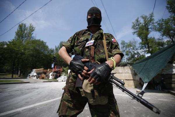 Ополченцы атакуют Луганский погранотряд