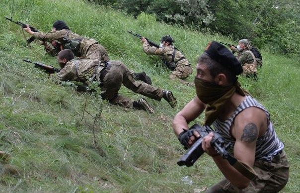 Госпогранслужба Украины сообщила о потерях во время штурма луганской погранчасти: ополченцы потеряли 9 человек убитыми и 28 ранеными, пограничники – 8 человек ранеными