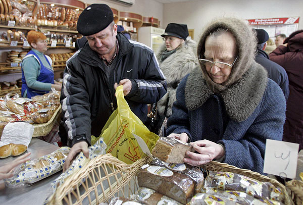 Из-за ситуации на Украине цены на продукты питания растут во всем мире