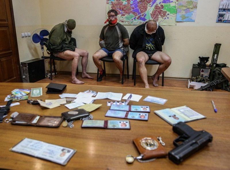 В Киеве родственники пленных боевиков украинской армии пикетируют Управление СБУ