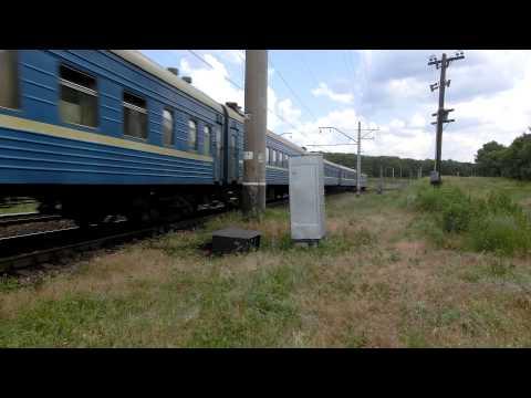 В Днепропетровской области неизвестные обстреляли пассажирский поезд