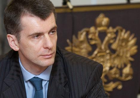 Прохоров заявил, что не продавал свой баскетбольный клуб