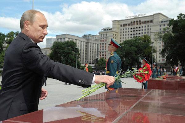 Путин заявил об обстреле территории России со стороны Украины