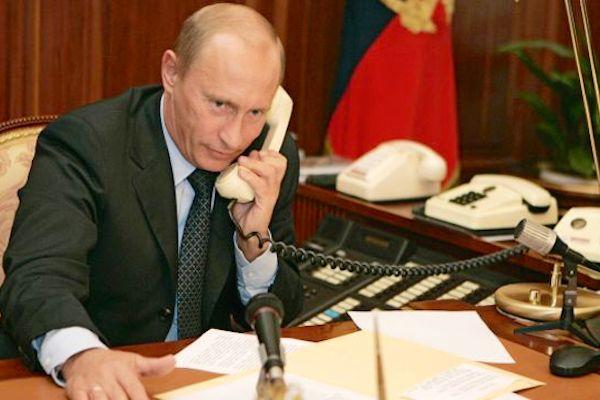 Путин говорил с Обамой по телефону об Украине