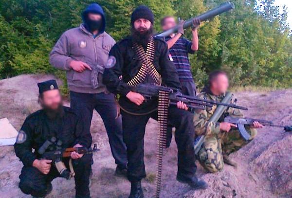 Добровольцы из Сербии едут на Донбасс