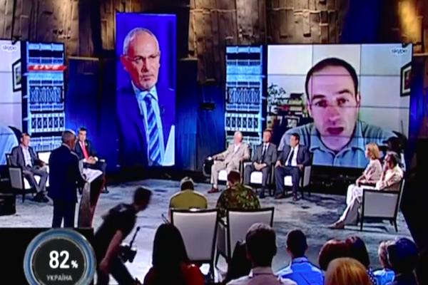 На украинском ТВ в прямом эфире взорвалась «информационная бомба»