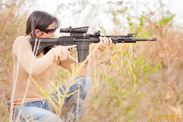 Литовская женщина-снайпер задержана на Донбассе
