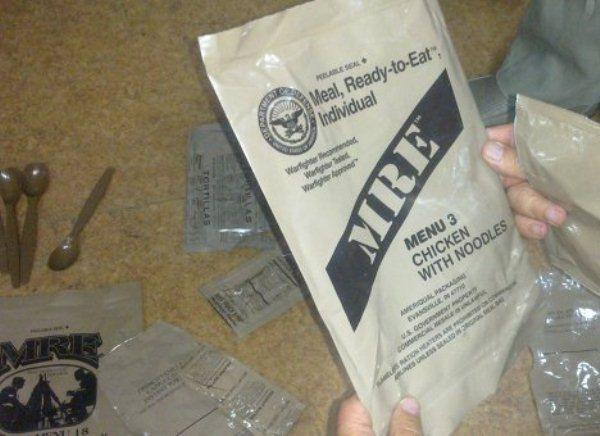 В Ростовской области найдены сухпайки армии США