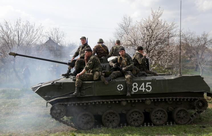 Украинские силовики взяли в заложники лидера мариупольских ополченцев