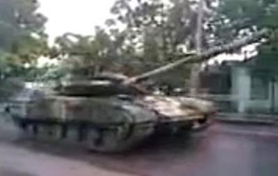 По Талаковке едут танки