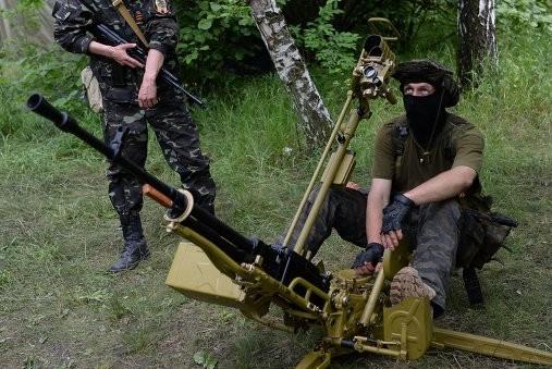 Ополченцы ЛНР сбили штурмовик ВВС Украины
