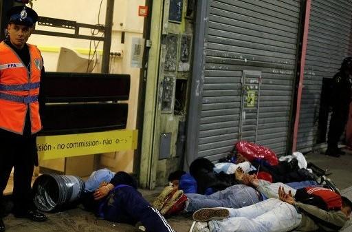 В Аргентине один человек погиб и 70 ранены