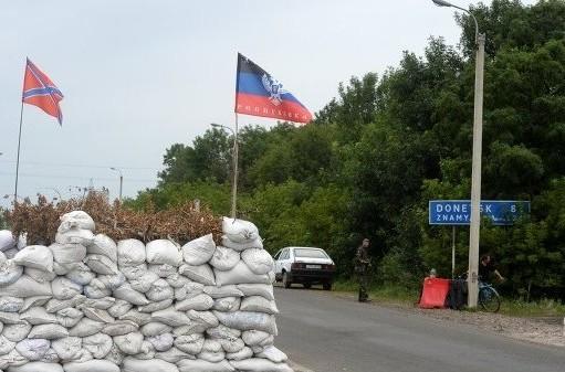 Город Дебальцево остался без света из-за артобстрела