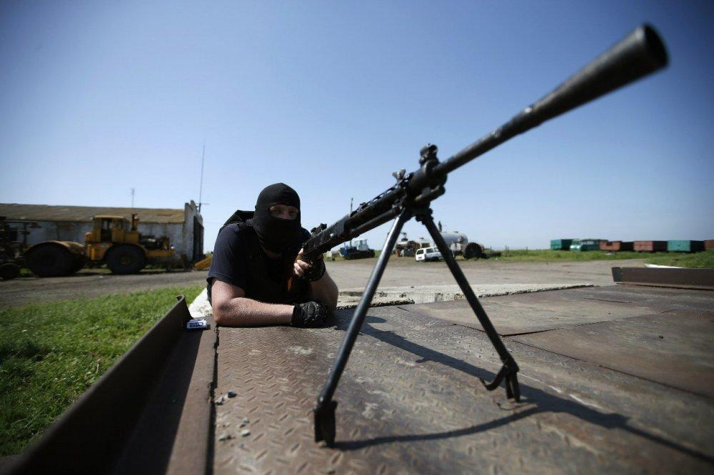 В Донецке возобновился бой