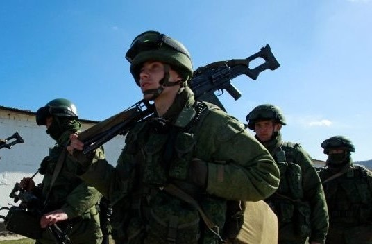 Танковый бой идет под Донецком