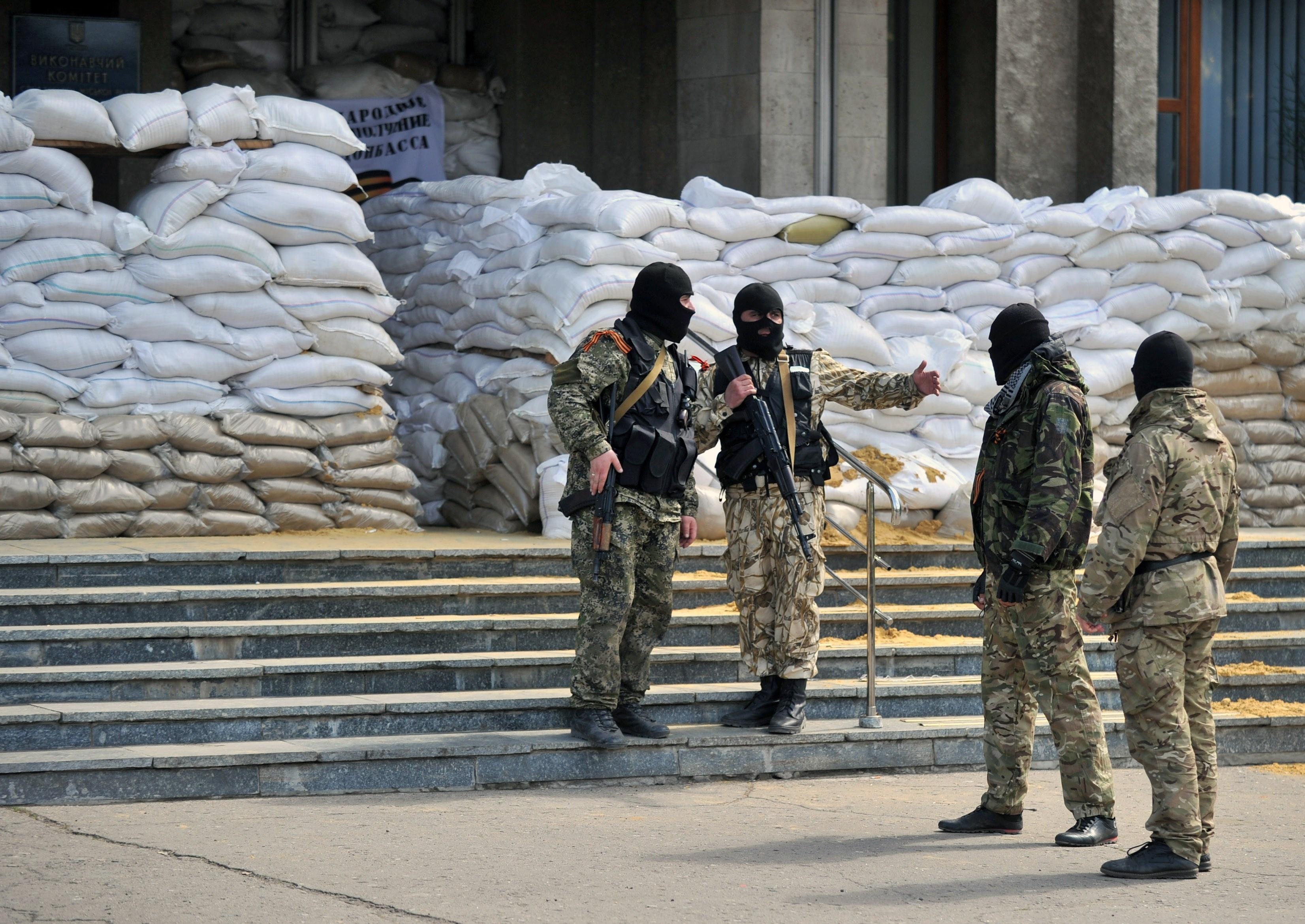 Ополчение Донецка не оставило в Славянске оружия
