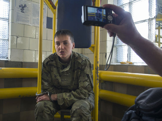 Воронежский суд рассмотрит жалобу на арест украинской летчицы Савченко