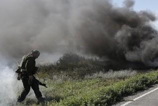 Украинские войска нанесли авиаудар по Луганску