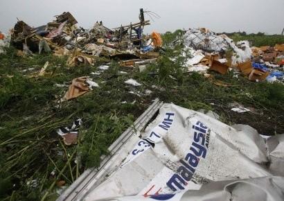 Самолеты пролетели над местом крушения Boeing, обстрелян поселок