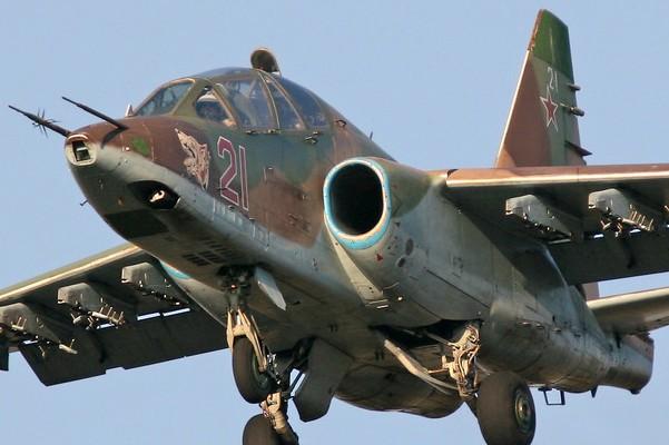 Видео сбитого ополченцами Су-25