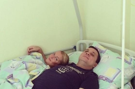 Анастасия Волочкова легла в больницу с любимым