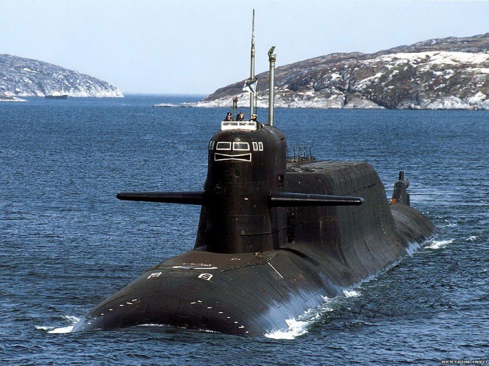 где стоят подводные лодки в мурманске