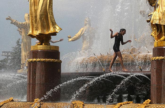 Аномальная жара ожидает москвичей