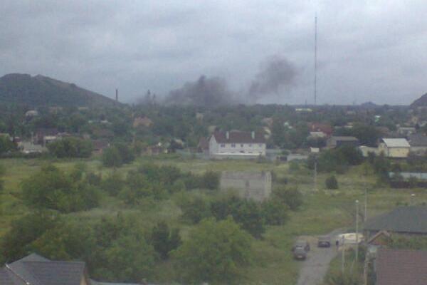 Украинские военные нанесли авиаудар по Донецку