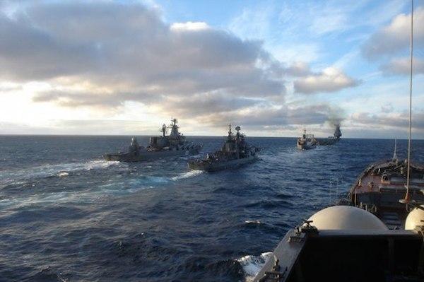 Черноморский флот начал учения