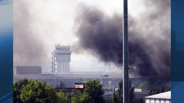 В Донецке в течение всей ночи шли бои на окраинах города