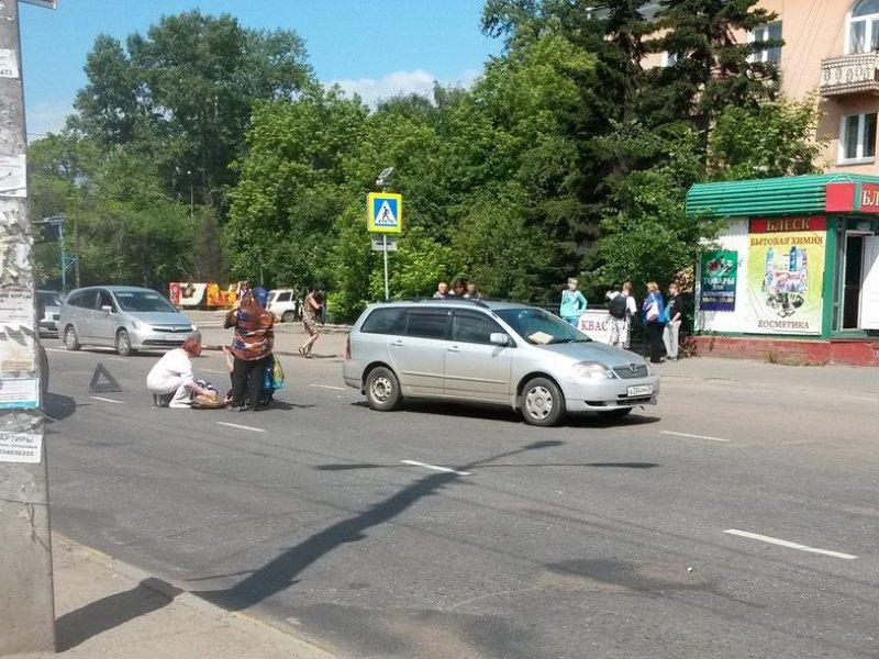 Беременная иркутянка попала под колеса «Тойоты»
