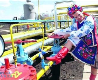 Украина хочет устроить газовую революцию