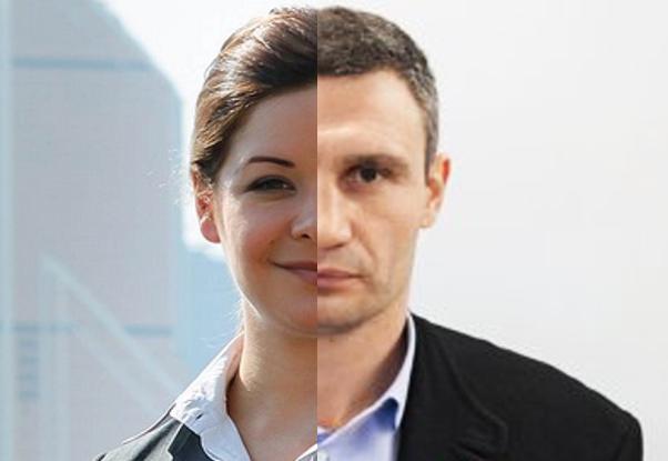 Мария Гайдар и Виталий Кличко обнаружили странное сходство