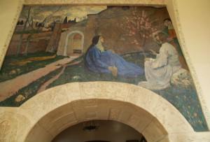 Христос у Марфы и Марии Михаил Нестеров Марфо-Мариинская обитель