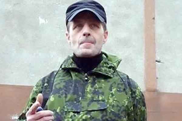 Комендант Горловки: Мы обнаружили на форме противника нашивки французского