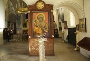 Икона Пресвятой Богородицы Свято-Покровский храм Марфо-Мариинской обители