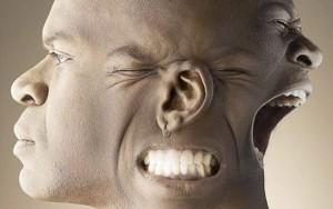 Искажение черт лица при шизофрении