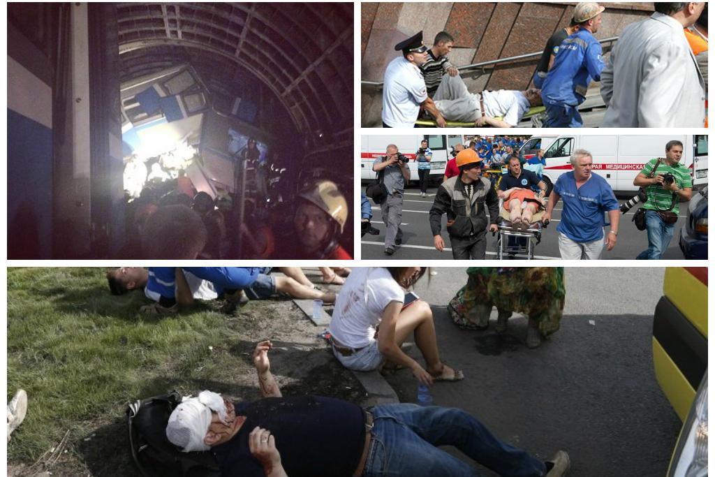 Авария в московском метро - есть пострадавшие и жертвы