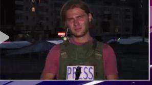 В результате очередного обстрела Луганска пострадал российский журналист