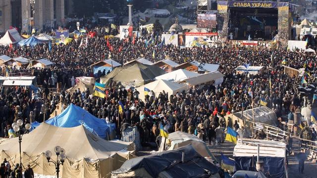 Генпрокурор Украины потребовал установить порядок в центре Киева
