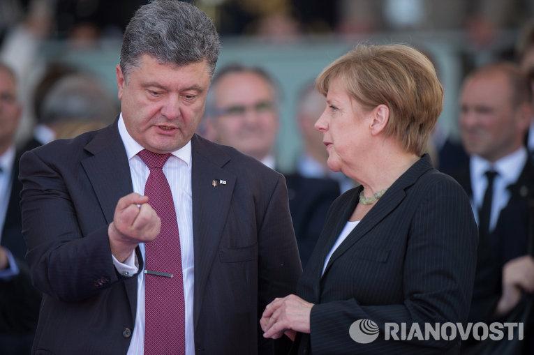 Меркель обещает Украине жесткую поддержку на саммите ЕС сегодня