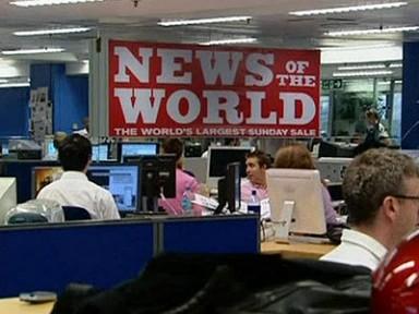 Руководство газеты News of the World поплатилось за прослушку