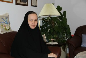 Настоятельница Марфо-Мариинской обители милосердия монахиня Елисавета (Позднякова)