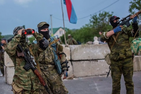 Ополченцы обстреляли еще одну колонну украинских войск